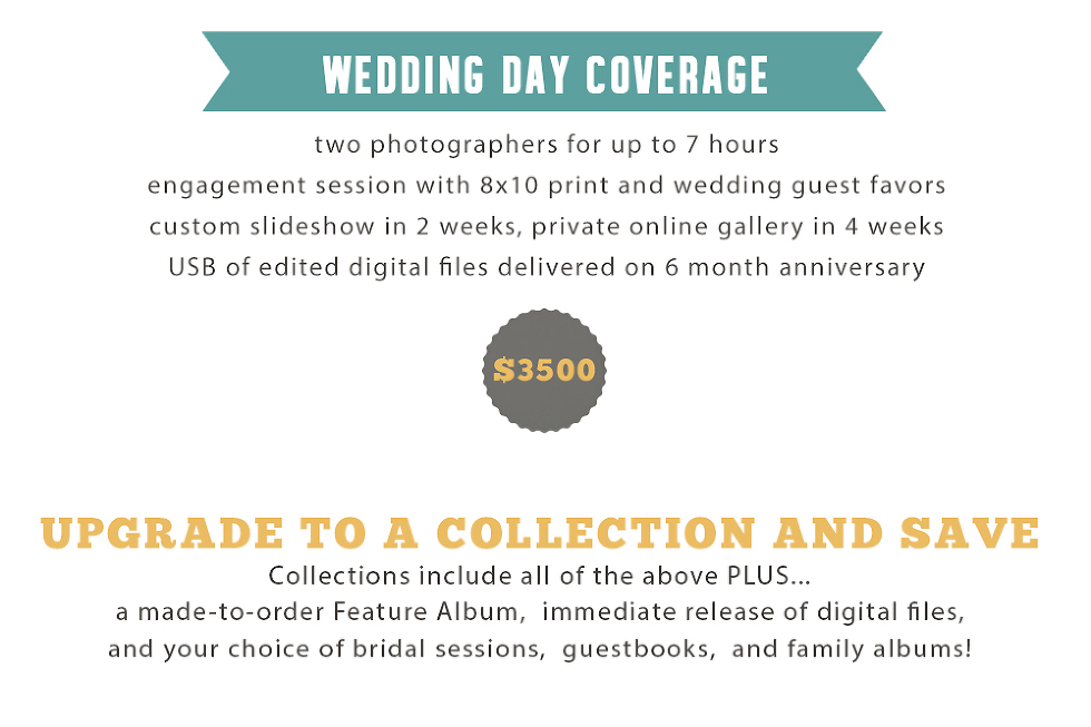 wed pricing